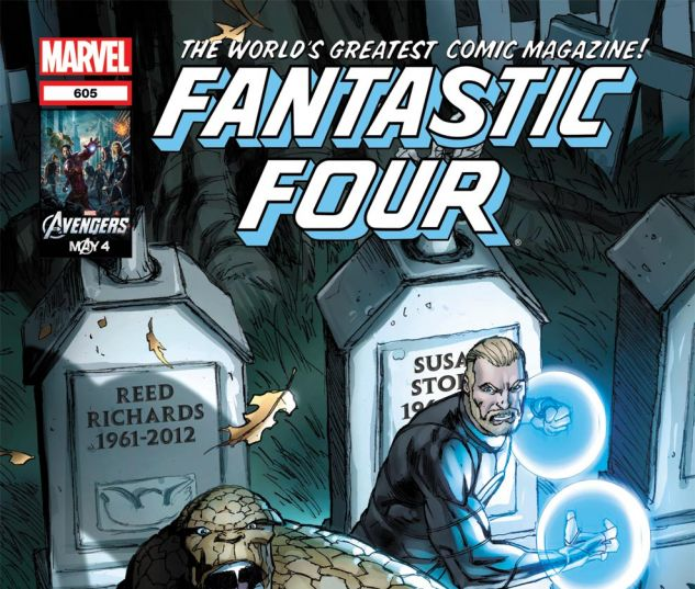FANTASTIC FOUR (1998) #605 Cover