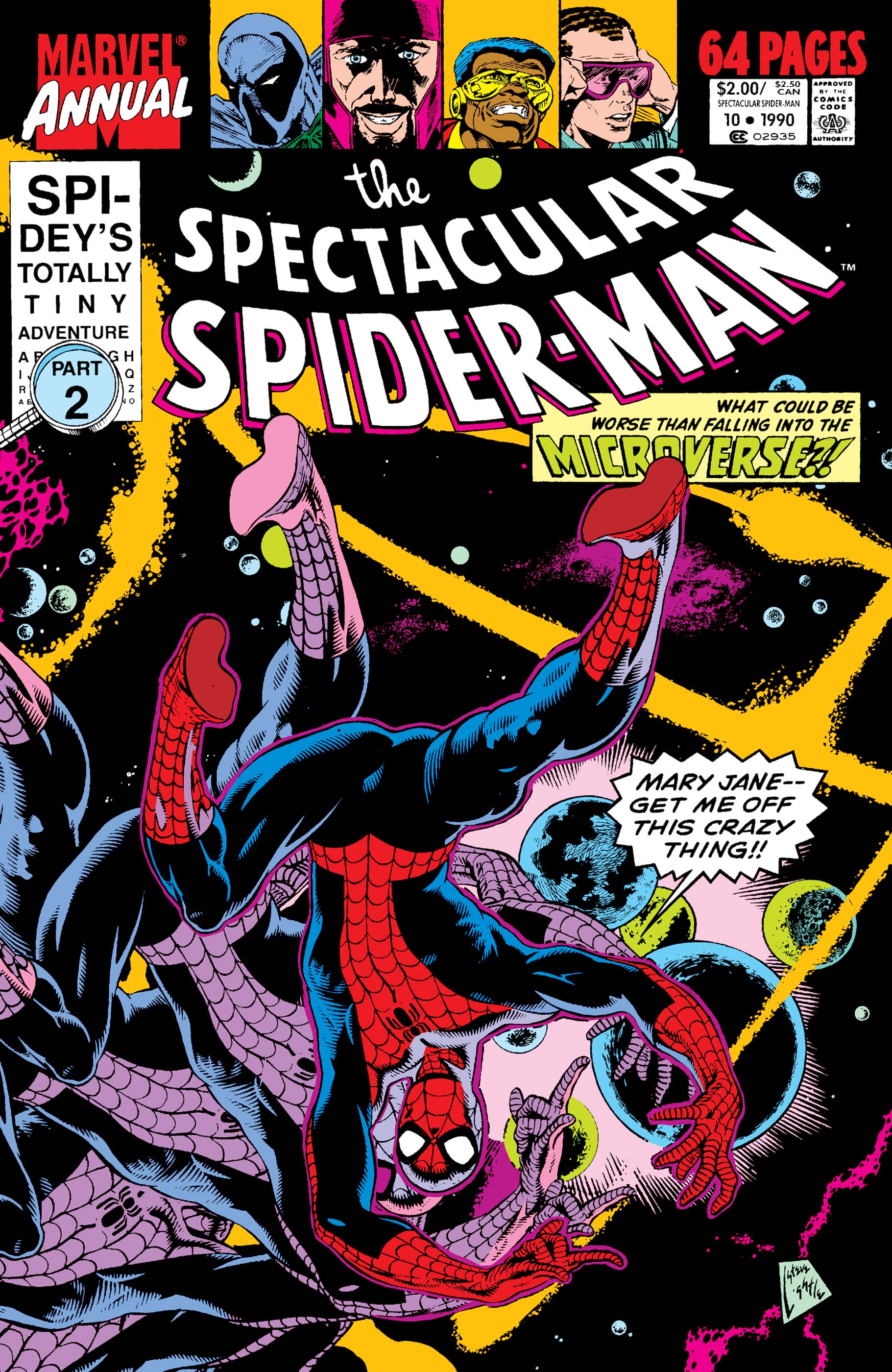 Peter Parker, the Spectacular Spider-Man Annual (1979) #10
