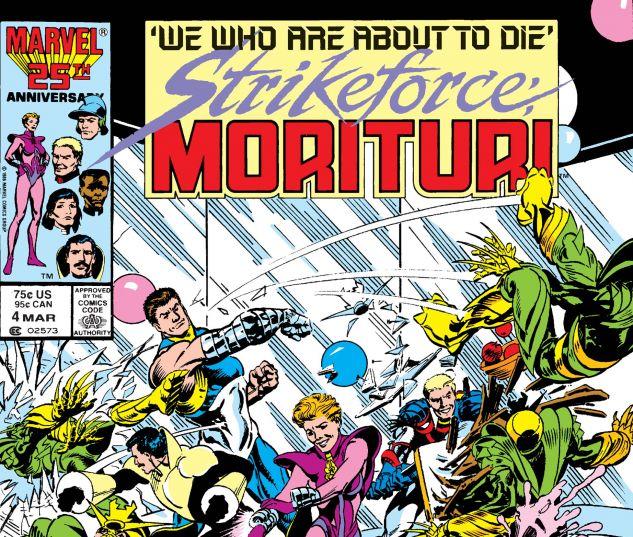 Strikeforce: Morituri (1986) #4