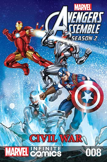 Marvel Universe Avengers Assemble: Civil War (2017) #8