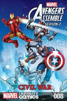 Marvel Universe Avengers Assemble: Civil War #8