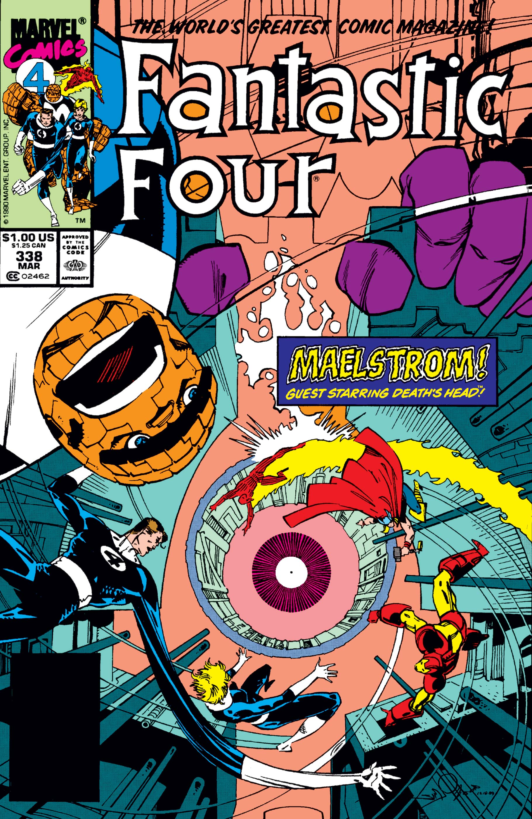 Fantastic Four (1961) #338