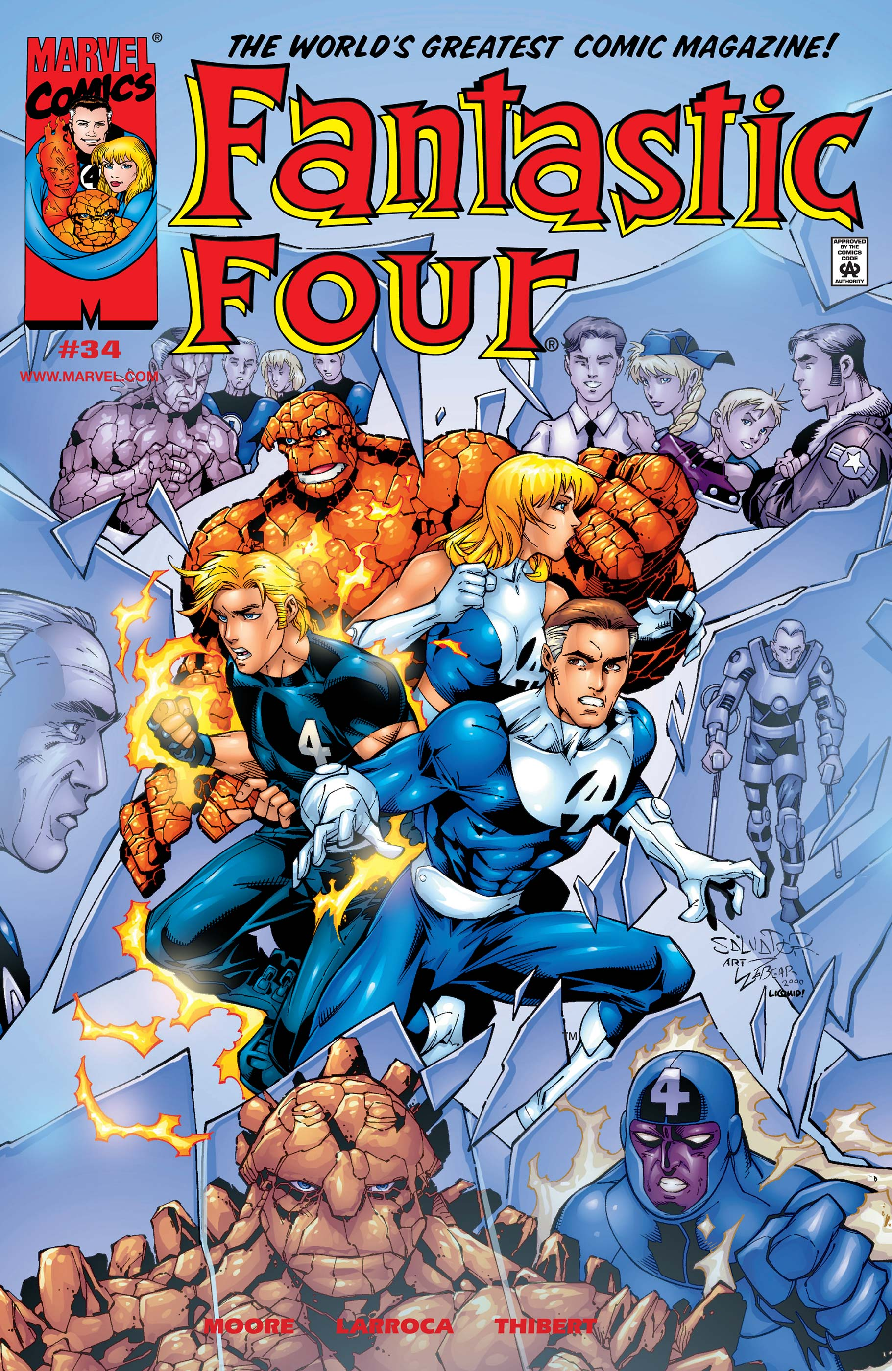 Fantastic Four (1998) #34