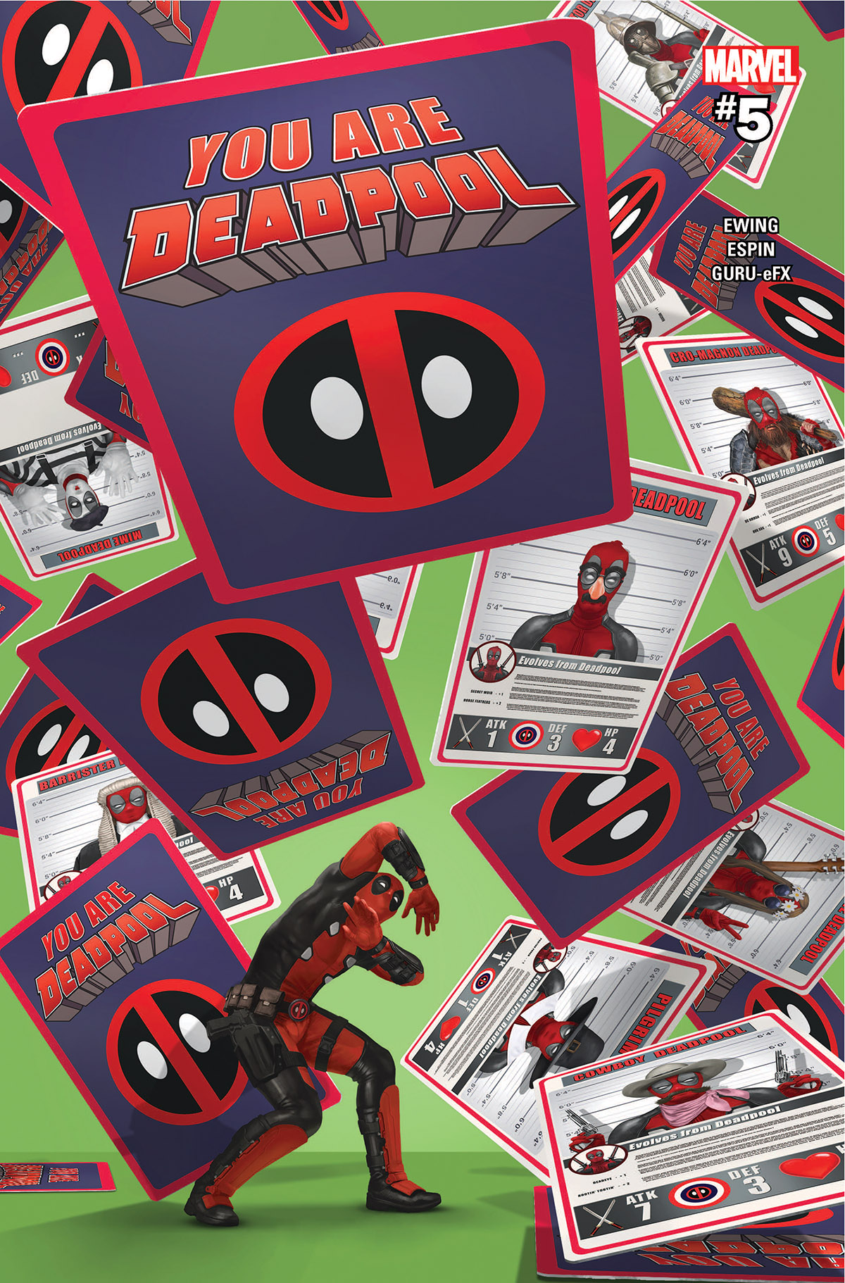 You Are Deadpool (2018) #5