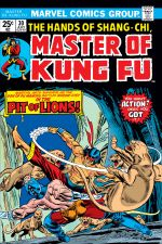 Master of Kung Fu (1974) #30 cover