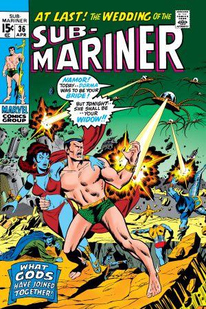 Sub-Mariner (1968) #36