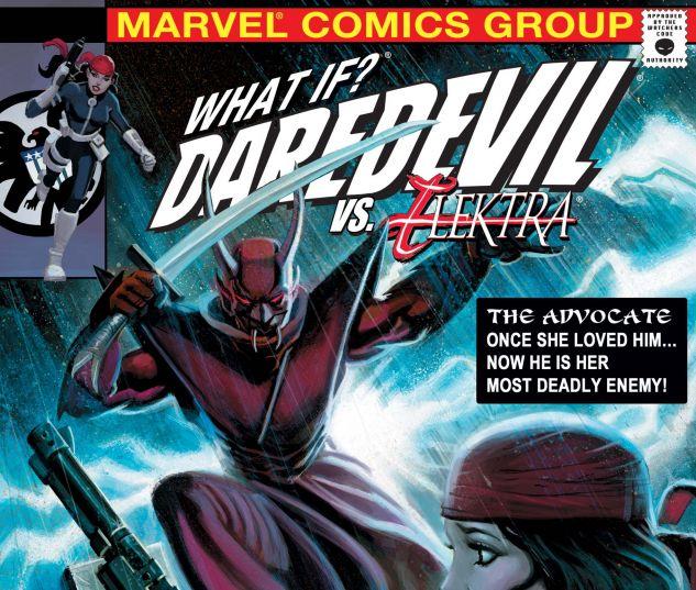 WHAT IF? DAREDEVIL VS. ELEKTRA (2009) #1