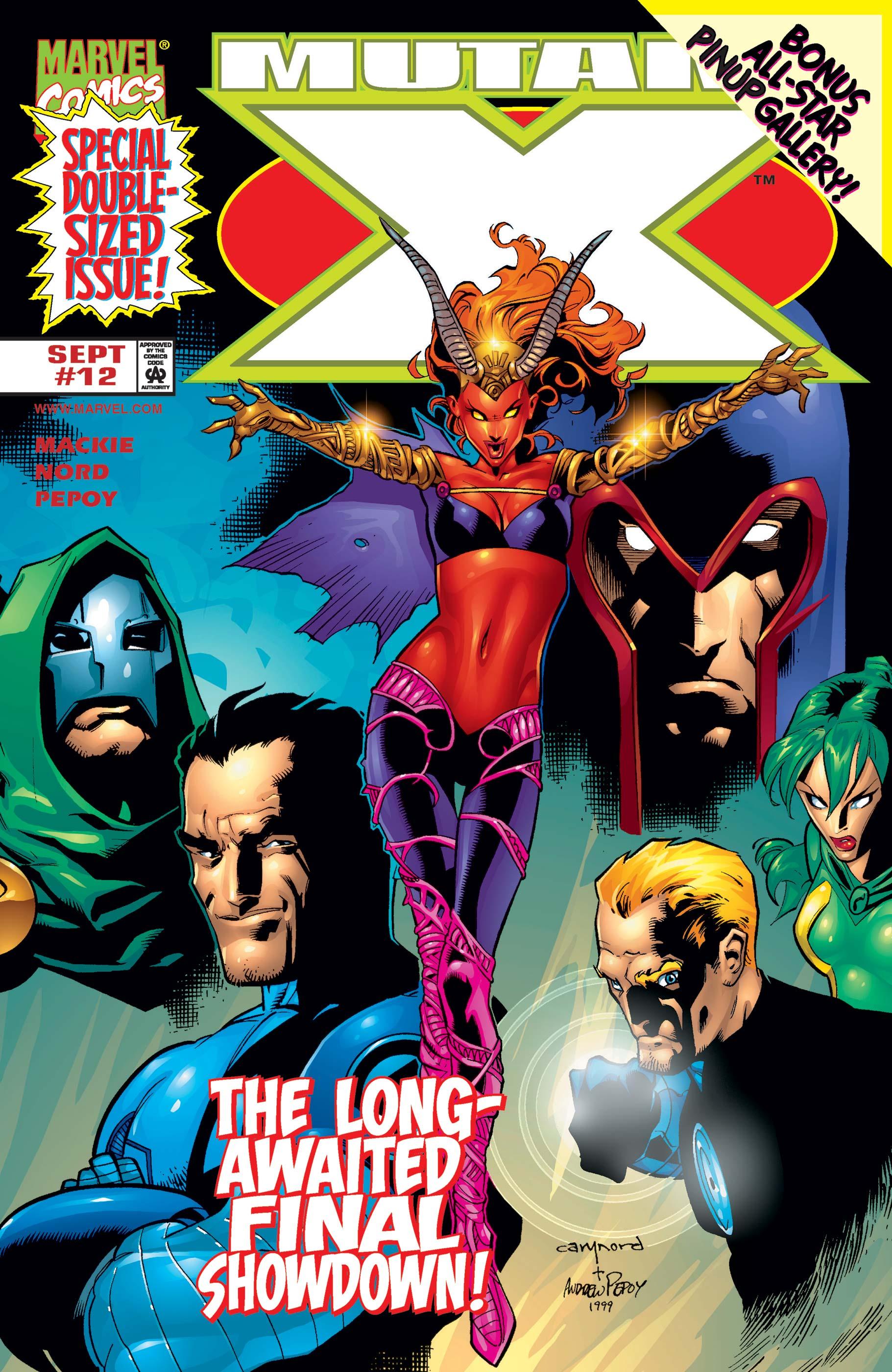 Mutant X (1998) #12