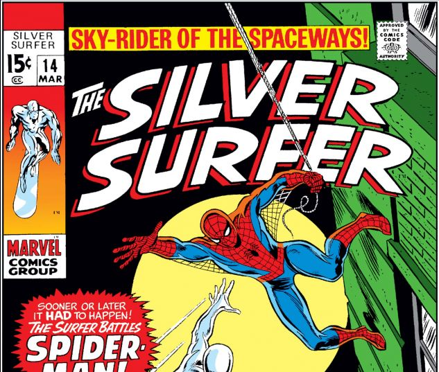 SILVER SURFER (1968) #14