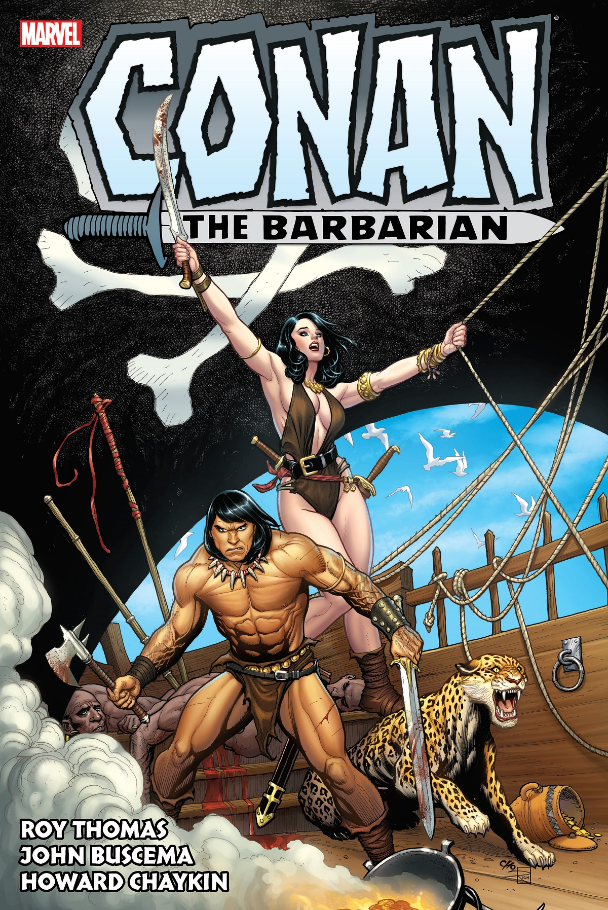 Conan The Barbarian: The Original Marvel Years Omnibus Vol. 3 (Hardcover)