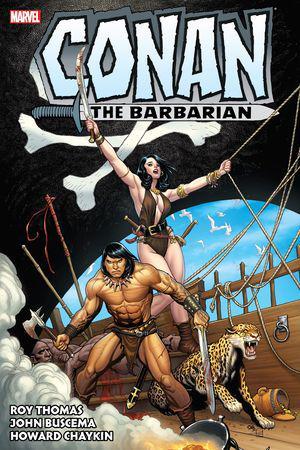 Conan The Barbarian: The Original Marvel Years Omnibus Vol. 3 (Hardcover)