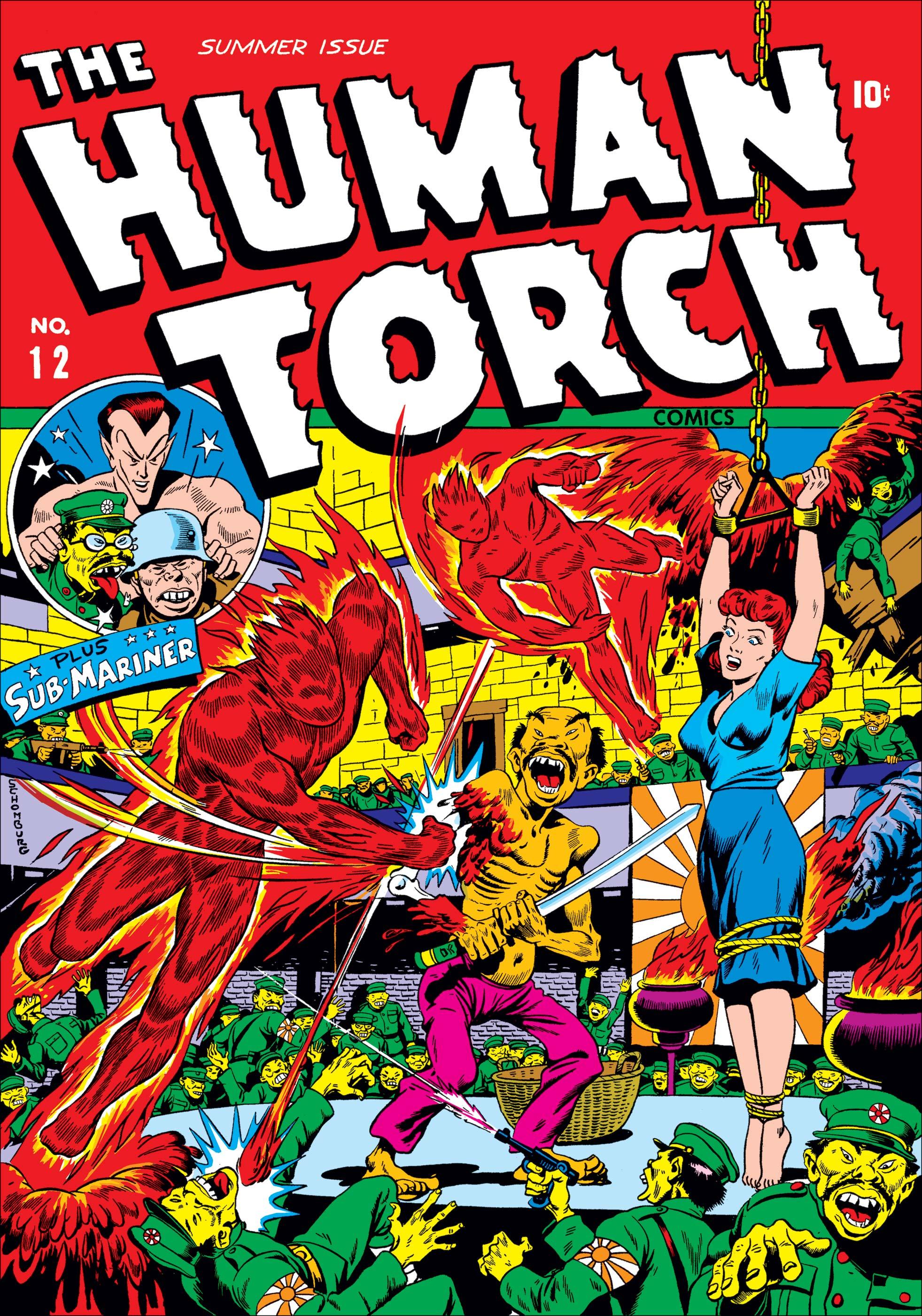 Human Torch Comics (1940) #12