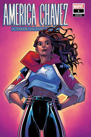 America Chavez: Made in the Usa (2021) #1 (Variant)