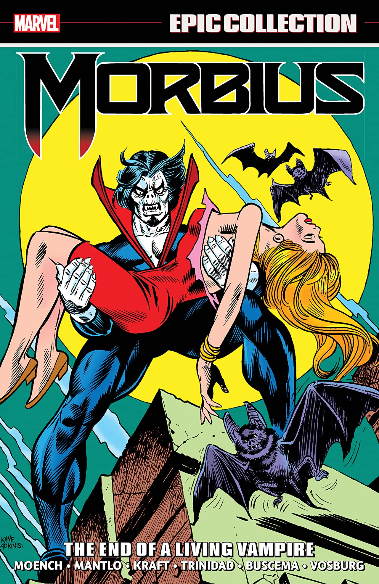 Morbius Epic Collection: The End Of A Living Vampire (Trade Paperback)