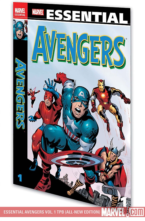 Essential Avengers Vol. 1 (Trade Paperback)