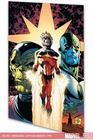 Secret Invasion: Captain Marvel (Trade Paperback)