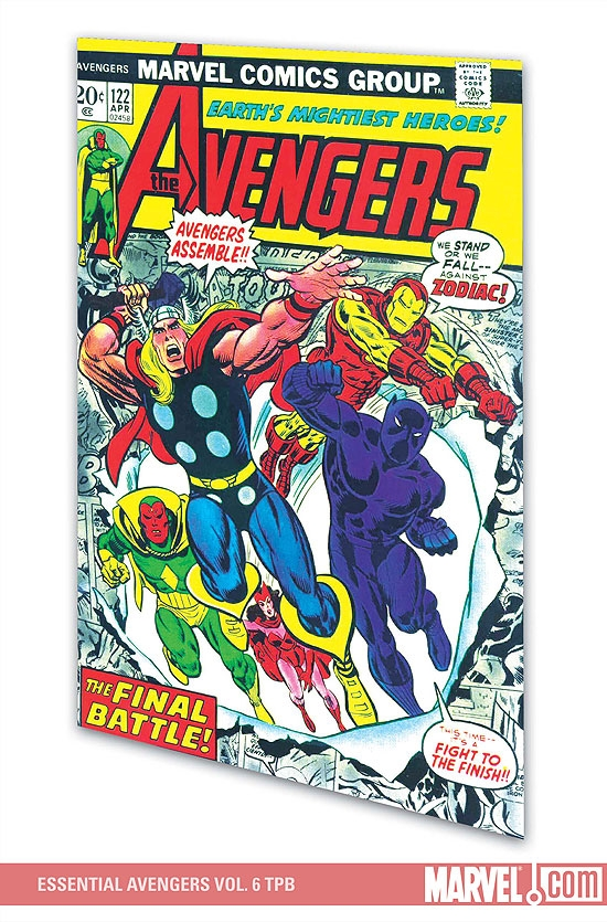 Essential Avengers Vol. 6 (Trade Paperback)