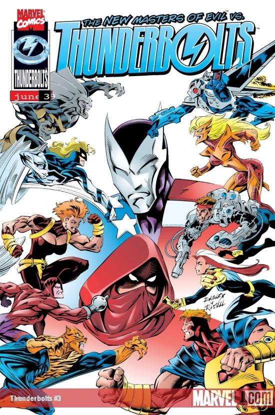 Thunderbolts (1997) #3