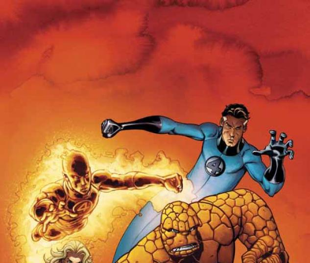 FANTASTIC FOUR VOL. 4: HEREAFTER TPB COVER