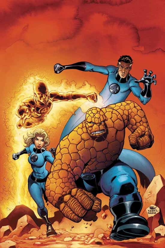 Fantastic Four Vol. 4: Hereafter (Trade Paperback)