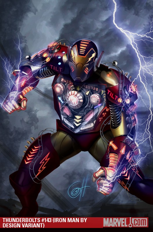 Thunderbolts (2006) #143 (IRON MAN BY DESIGN VARIANT)