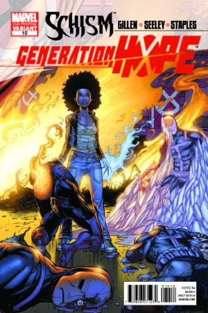 Generation Hope (2010) #10 (2nd Printing Variant)