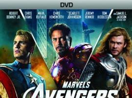 Marvel's The Avengers 1-Disc DVD box art