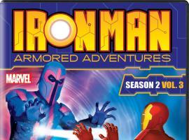 Iron Man: Armored Adventures Season 2, Vol. 3 DVD box art