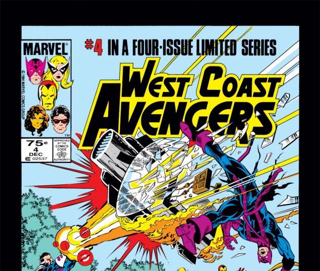 West Coast Avengers (1984) #4 Cover