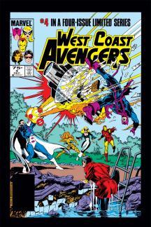 West Coast Avengers (1984) #4
