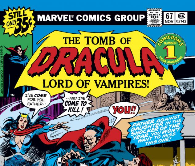 Tomb of Dracula (1972) #67 Cover
