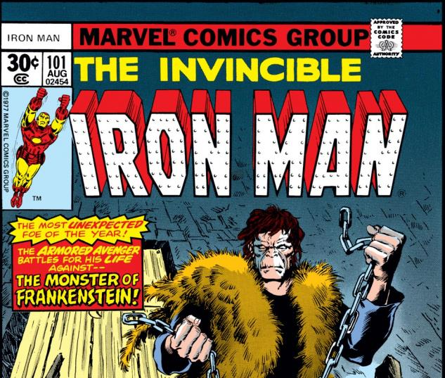 Iron Man (1968) #101 Cover