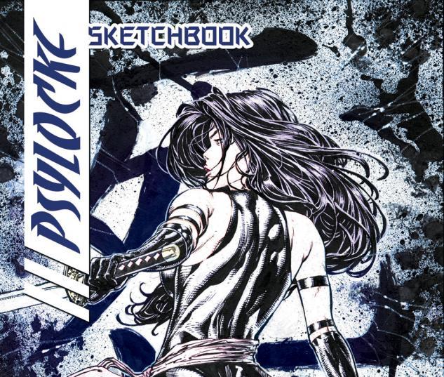 Psylocke Sketchbook (2009) #1 Cover