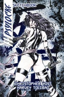 Psylocke Sketchbook (2009) #1