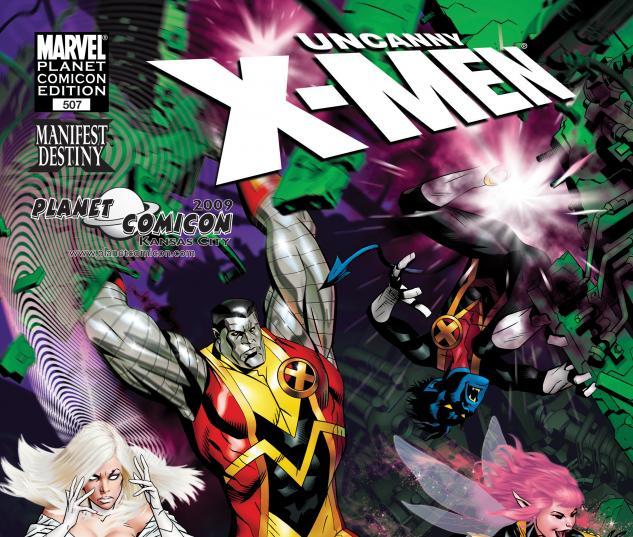 Uncanny X-Men (1963) #507 PLANET COMICS GOLDEN VARIANT Cover