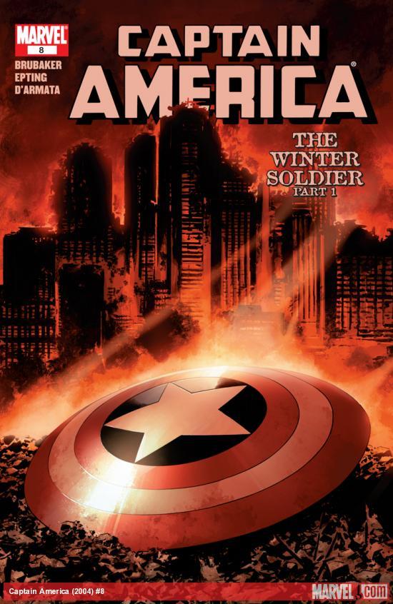 Captain America (2004) #8