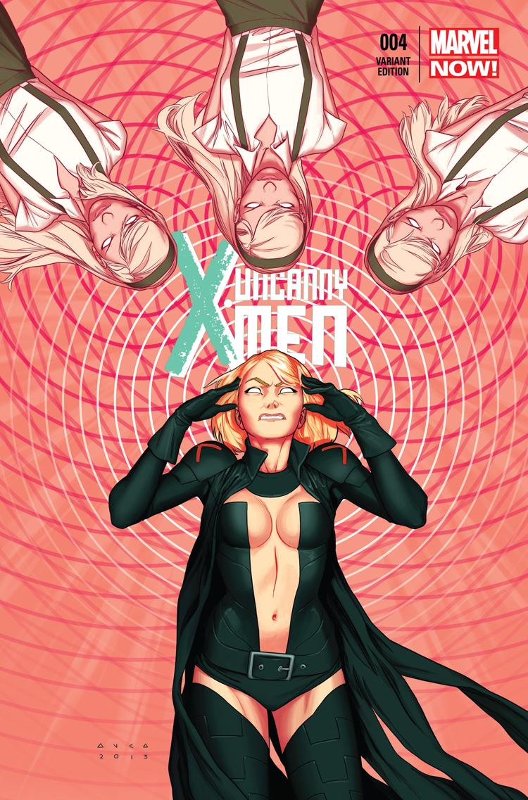 Uncanny X-Men (2013) #4 (Anka Variant)