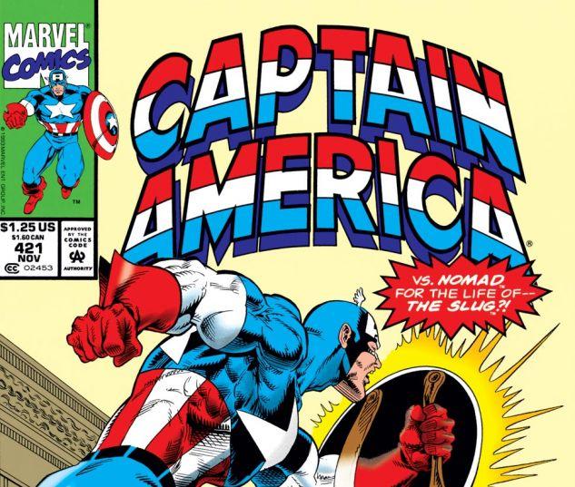 Captain America (1968) #421 Cover