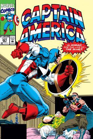 Captain America #421