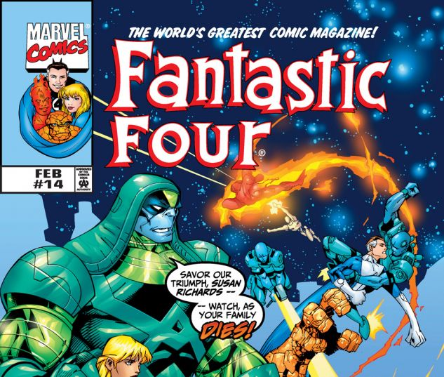 Fantastic Four (1998) #14 Cover