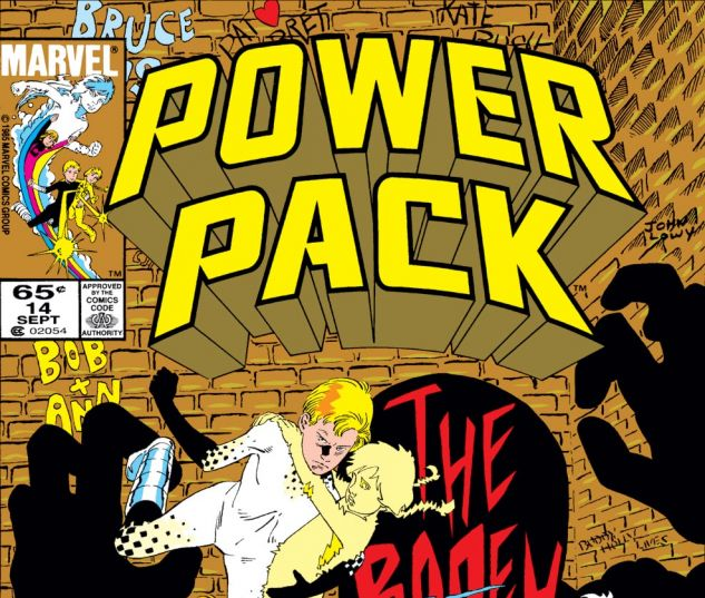 Power Pack (1984) #14 Cover