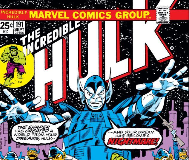 Back To The Future 1962 1975 May 2013: Incredible Hulk (1962) #191