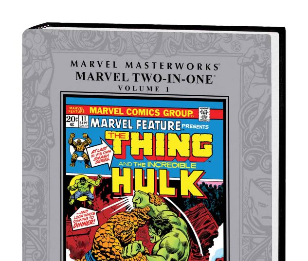 MARVEL MASTERWORKS: MARVEL TWO-IN-ONE VOL. 1 HC