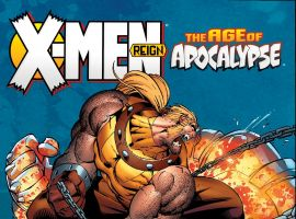 cover from X-Men: Age of Apocalypse - Reign (2015)