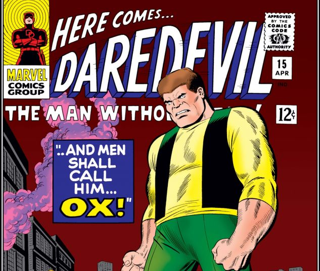 DAREDEVIL (1964) #15 Cover