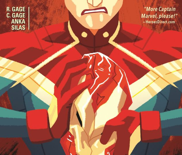 cover from Captain Marvel (2016)