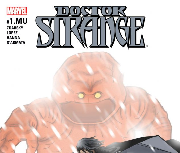 cover to Doctor Strange (2015) #1.MU