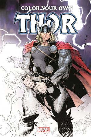Color Your Own Thor (Trade Paperback)