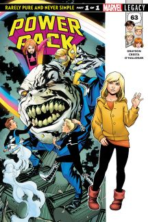 POWER PACK 63 CHRISTOPHER TRADING CARD VARIANT (2017) #63