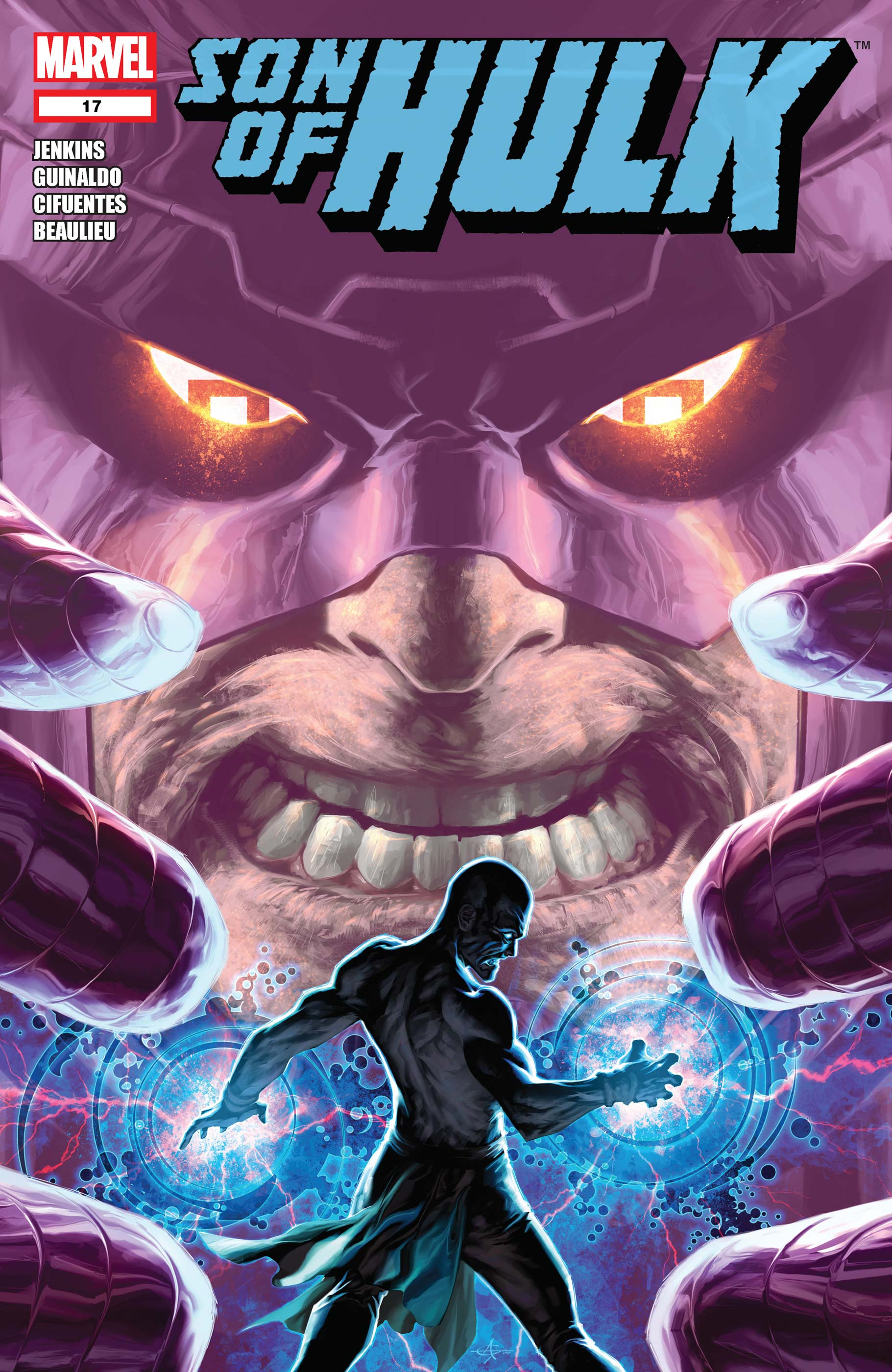 Skaar: Son of Hulk (2008) #17
